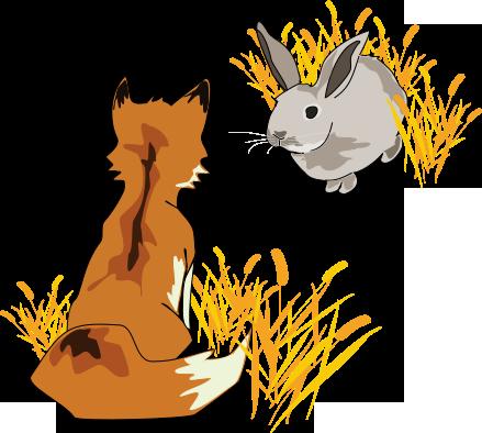 Liška s králíkem - O malém Veverčátku - Petra Pávková - Jana Kutová